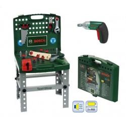 Etabli pliable Tool Shop BOSCH + visseuse IXOLINO II