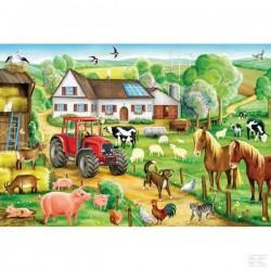 Puzzle à la ferme SCHMIDT