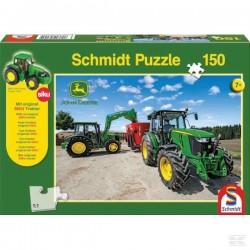 Puzzle Tracteurs John Derre serie 5M SCHMIDT