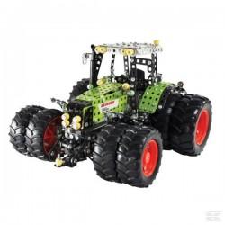 Tracteur Claas Axion 850 + roues jumelées TRONICO