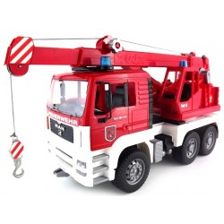 Camion de pompier 6X4 avec grue MAN