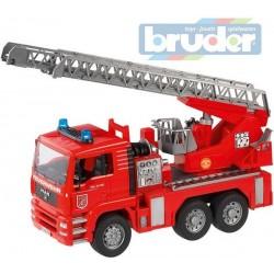 Camion de pompier 6X4 avec echelle MAN