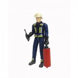 Pompier avec accessoires BRUDER