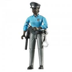 Policiere avec accessoires