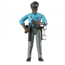 Policier avec accessoires