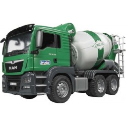 Camion toupie a beton TGS MAN