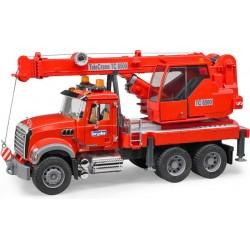 Camion grue MACK