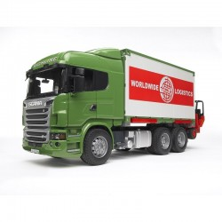 Camion porte container logistic serie R SCANIA + Lift