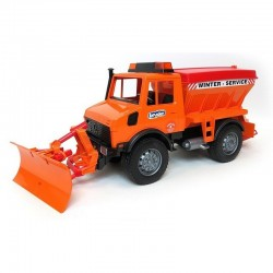Camion Chasse neige Unimog MERCEDES