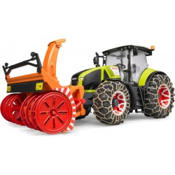 Tracteur chasse neige Axion CLAAS